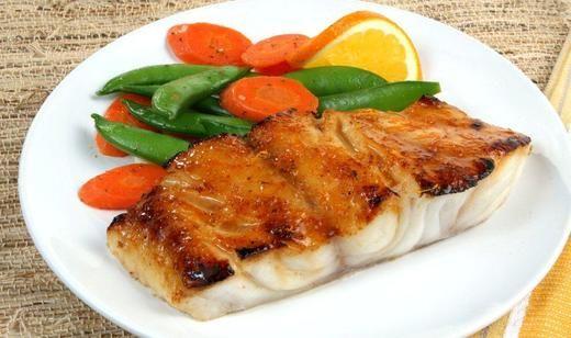 Honey Orange Glazed Florida Grouper #freshfromflorida @Florida Agriculture #recipes #grouper #TheFoodChannel
