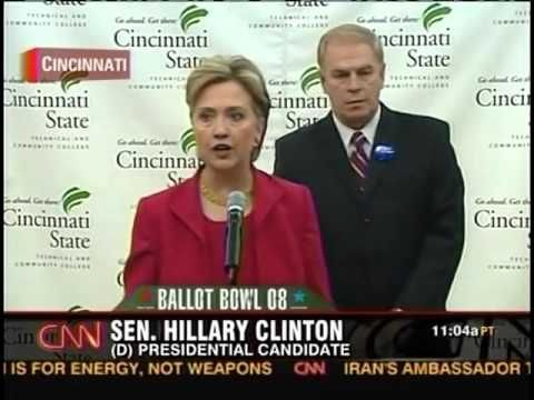 Hillary Clinton on Universal Health Care in 2008. Bernie called her out.