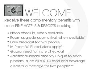 American Express Adds New Benefit for Fine Hotels and Resorts Program - http://theforwardcabin.com/2015/01/29/american-express-adds-new-benefit-fine-hotels-resorts-program/