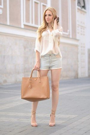 Gucci sunglasses, Prada bag and Prada on Pinterest