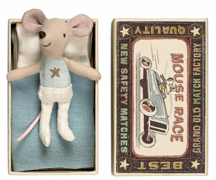 """Maus """"Little Brother"""" Stern mit Streichholzschachtel von Maileg im LilleHusStore.de kaufen; Mäuse Zahnfee im Maileg onlineshop bestellen"""