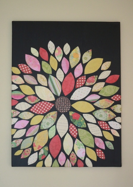 Wall Decor With Scrapbook Paper : Ideas about scrapbook wall art on paper