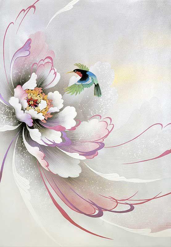 Watercolor by Tsurina Olga Mindal,