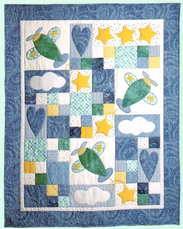 Sky Dreams Quilt Pattern--made for friend's baby... $9.00