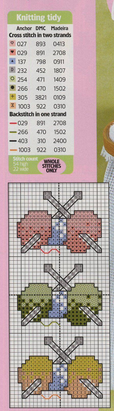 Schema punto croce Idee 509