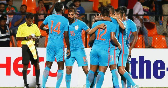 Macau: India took a giant step towards qualification for the 2019 AFC Asian Cup as they registered a 0-2 win over Macau in an away match at the Macau Olympic Stadium here on Tuesday.  ম্যাকাও-কে উড়িয়ে ১১ ম্যাচে অপ্রতিরোধ্য ভারত In what was a totally one-sided contest, substitute Balwant Singh...