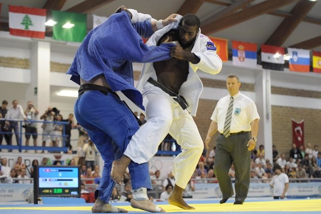 15 Faces to Watch at the 2012 London Olympic Games - Teddy Riner (R) of France won a bronze medal for men's judo in Beijing but it seems likely that, given his unmatched record of six world titles, he'll be vying to do better this time around.