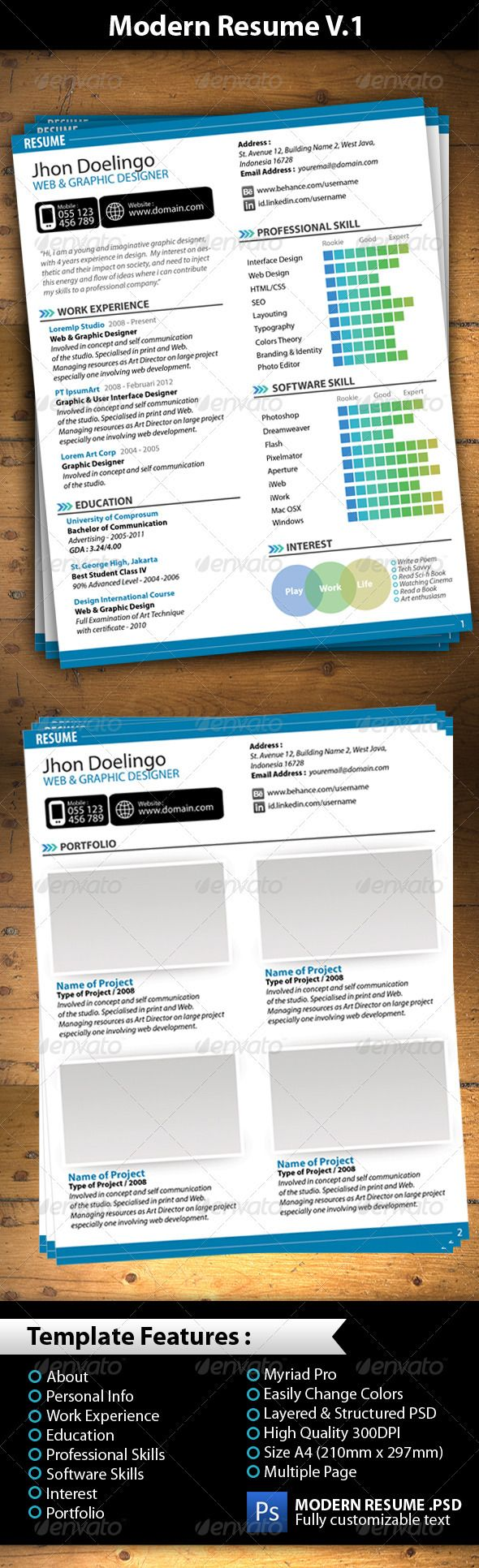 Best Freebie Images On   Resume Templates Business