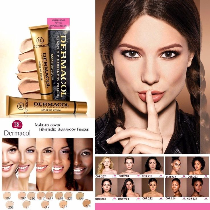 DERMACOL MAKE-UP COVER (CONCEALER)Legendary FILMSTUDIO high covering make-up. Ships from the USA in under 48 hours With Tracking ID COVERAGE: Full... #hypoallergenic #waterproof #foundation #makeup #high #cover #dermacol