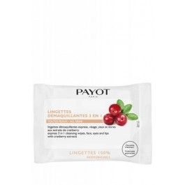 Payot: Express 3 in 1 Fast Cleansing Wipes. These gentle, biodegradable wipes preserve the skin's natural balance while eliminating make-up from the face, eyes and lips. Practical and easy to use, they provide and immediate feeling of freshness. www.beautysense.ca