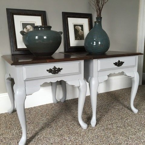 6 ft long dresser and end tables