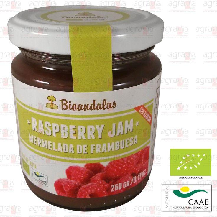 #Mermelada Ecológica de #Frambuesa endulzada con ágave, excluyendo el azúcar. #Raspberry #Jam - See more at: http://agradia.com/gourmet/mermelada/mermelada-ecologica-de-frambuesa-260-gr-detail#sthash.FtDTEJSu.dpuf