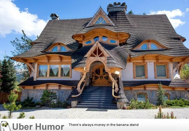 I Dont Know Which Is More Badass The Roof Or The Front Door