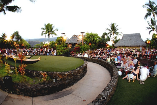 Photo from the grounds of Old Lahaina Luau