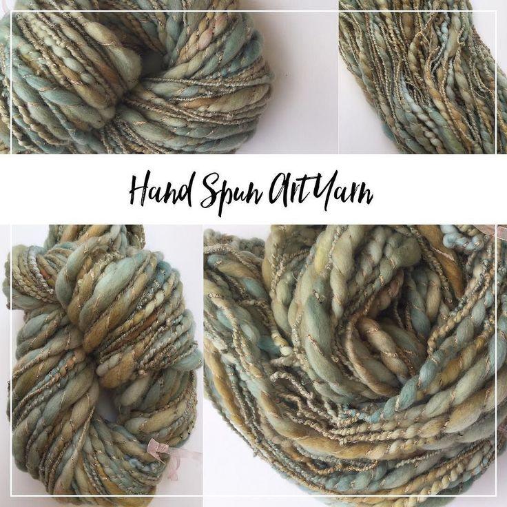 This yarn is now available in my shop. Link in bio. Super slub bulky plied with a mohair viscose glitter blend #handspunyarn #spinnersofinstagram #yarnporn #knittingyarn #crochetyarn #weaving #dollhair #pinkipunki #craftsupplies #bulkyyarn #chunkyyarn #slubyarn