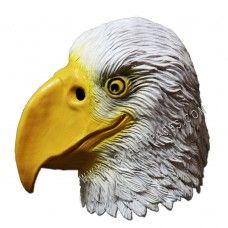 Latex Animal Masks : Animal Overhead Mask - White Eagle ( Latex )