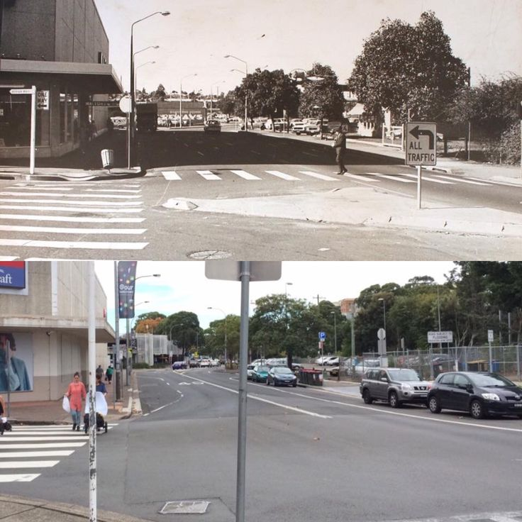 North Terrace opposite Bankstown Central Shopping Centre, Bankstown 1970 > 2016. [Bankstown Library & Knowledge Centre > Rayy Bk. By Rayy Bk]