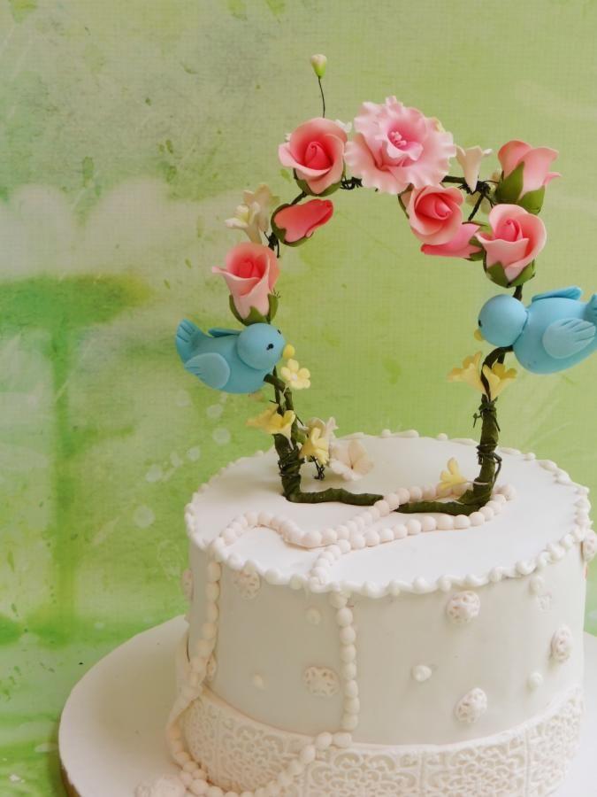 A simple anniversary cake - Cake by Prachi DhabalDeb