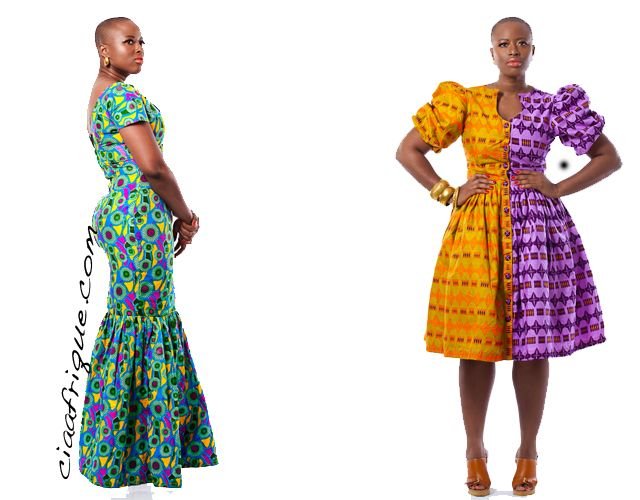 Morning crush plus size african print dresses inspiration ciaafrique african fashion Ciaafrique fashion beauty style
