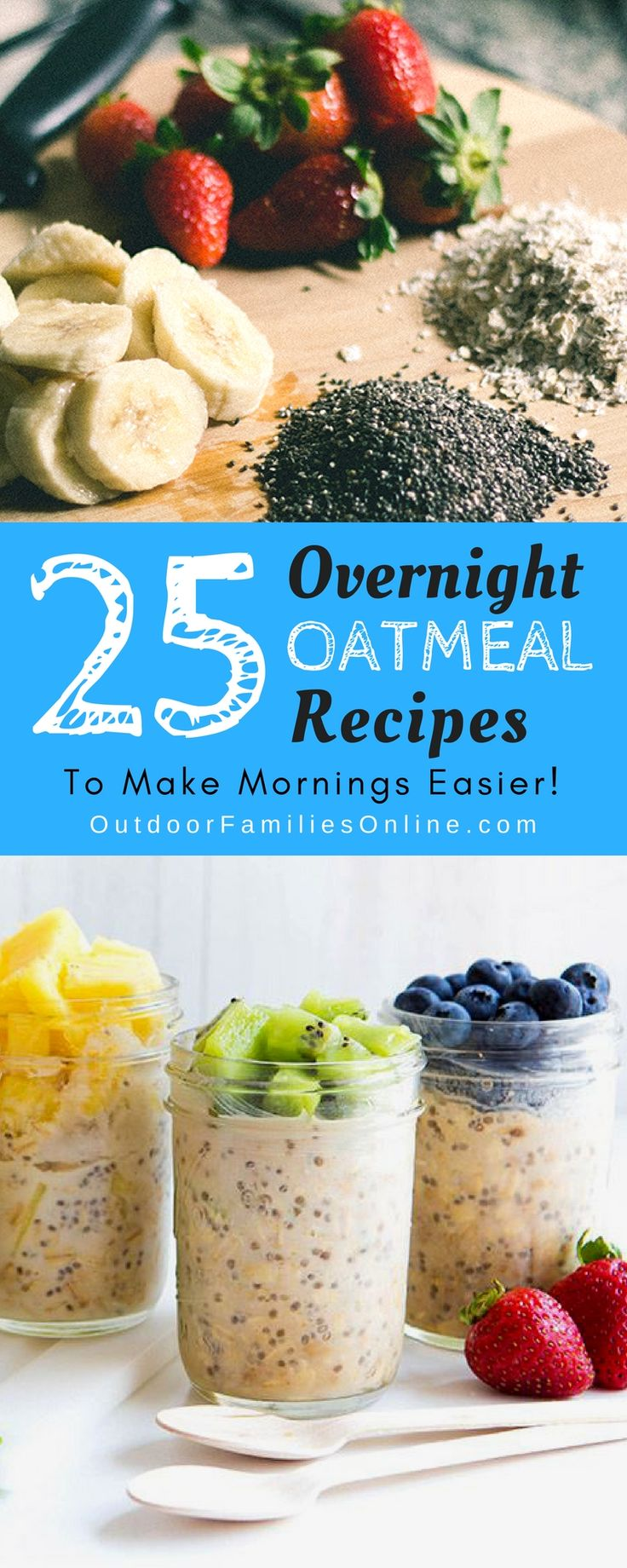 Delicious Overnight Oats Just Might Save Your Familys Morning Here Are 25 No Cook Camping BreakfastBreakfast