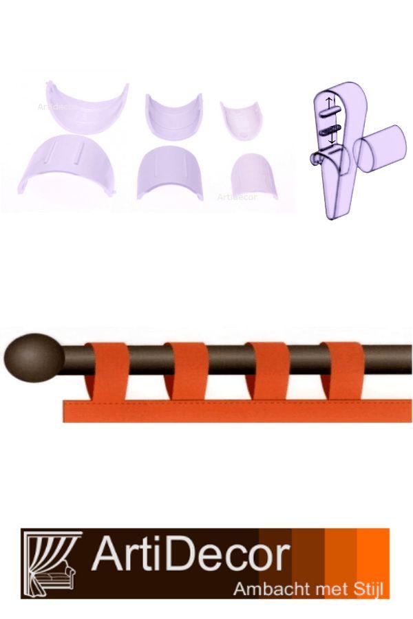 Deze gordijn cupjes laten gordijn lussen soepel glijden over de roeden. U kunt deze cups vast zetten aan de binnenzijde met de bijgeleverde zelfklevende klittenband. Vragen? wij van ArtiDecor staan voor u klaar. 072-5158252
