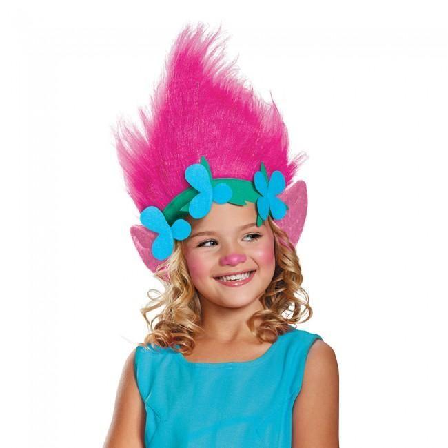 Trolls Poppy Headpiece Halloween Fancy Dress Costume Accessories Fancy Dress