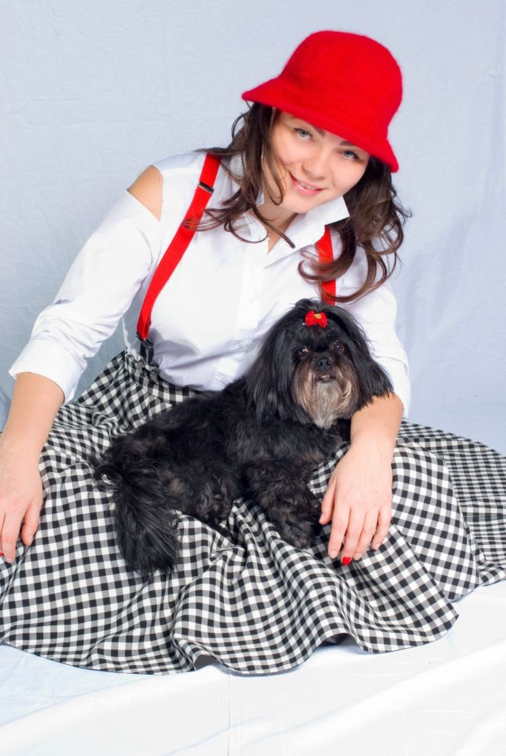 a Bit in Mee: unconditional Love  #emi #shihTzu #dog #thebest #photo #session #aBitinMee #fashion #blogger #suspenders