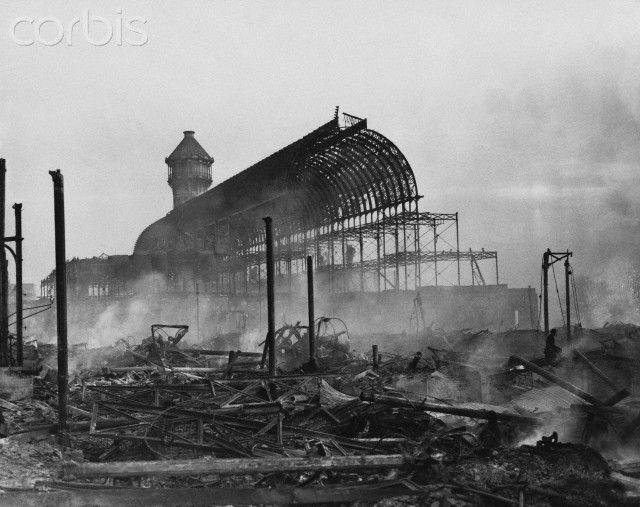Crystal Palace Fire, 1936