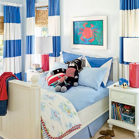 this is an adorable sea theme room!