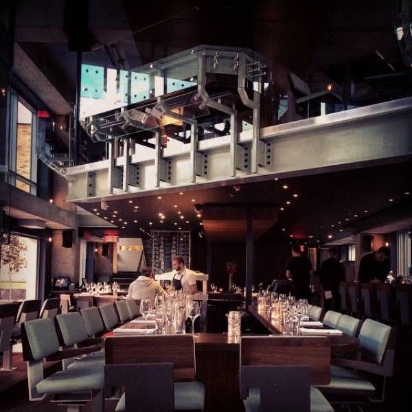 Notkins, bar à huîtres, downtown, 1101 bleury, coin René Lévesque.