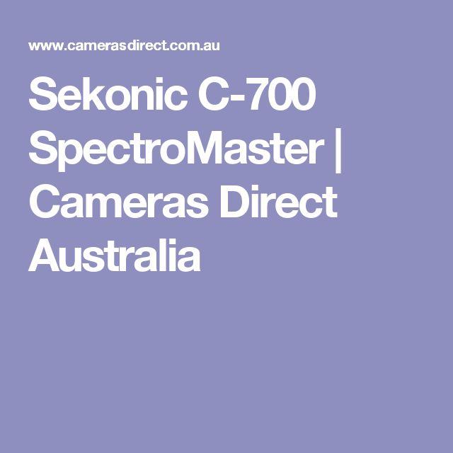 Sekonic C-700 SpectroMaster | Cameras Direct Australia