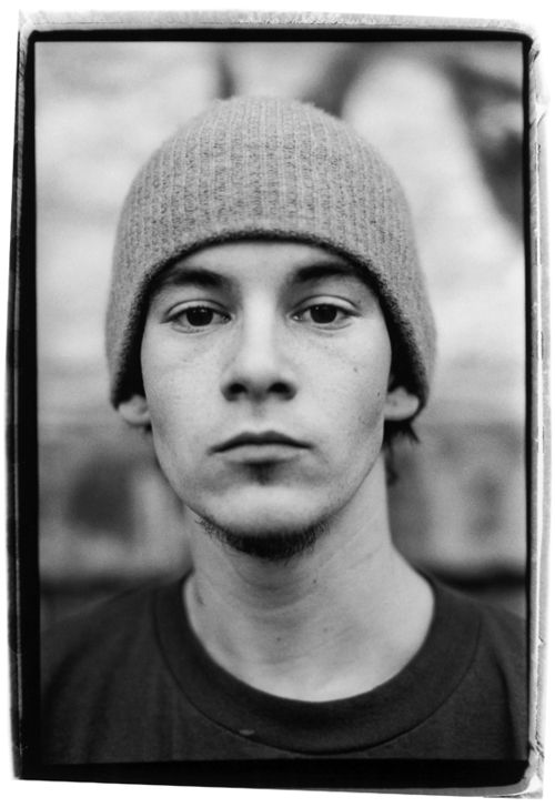 Justin Pierce by Ari Marcopoulos