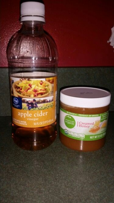 I was desperate to try something for my scratchy sore throat and came across this home remedy that I believe gave me relief! Drink while it's warm! • 1 cup warm water • 1 tbsp apple cider vinegar • 1 tbsp honey