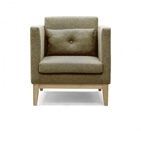 Fauteuil Day Vert Army - Design House Stockholm