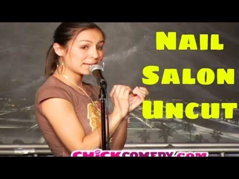 Anjelah Johnson - Nail Salon Uncut (Stand Up Comedy) - YouTube