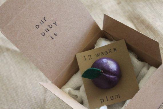 12 week Pregnancy Announcements How Big Is My by ThePartyPosse