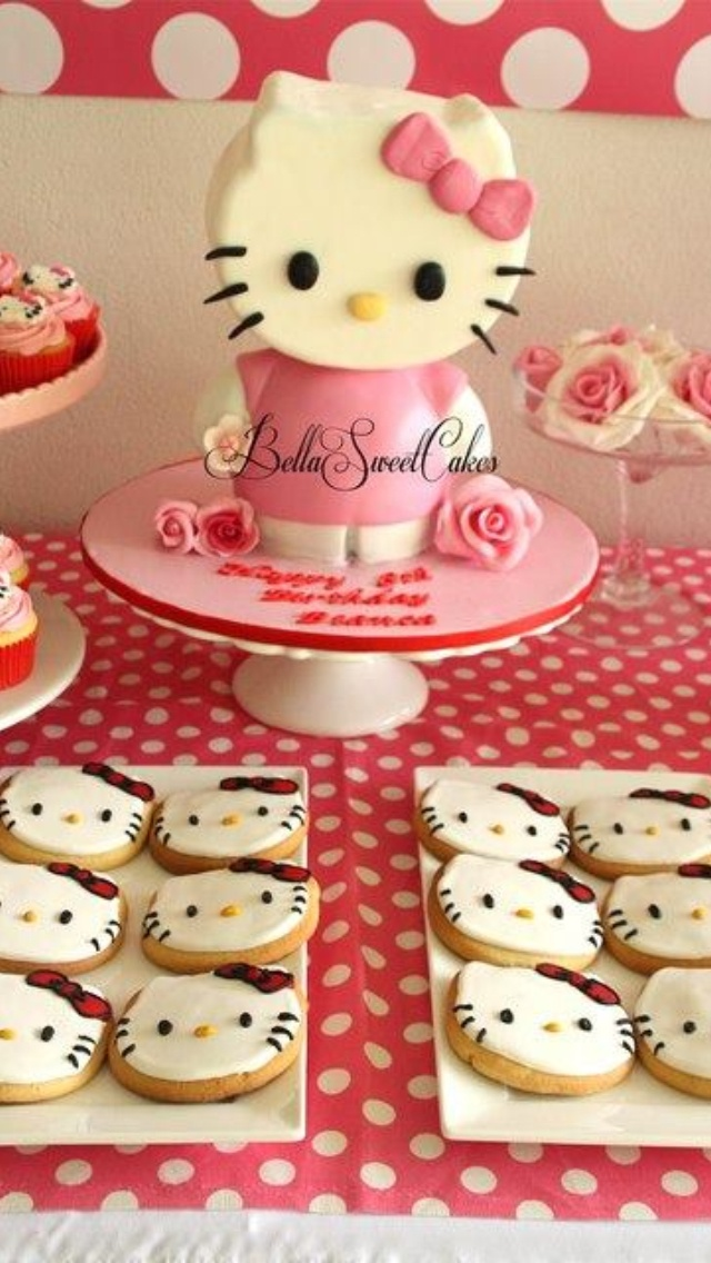 Photo 19 Of Hello Kitty Birthday Party For Bianca