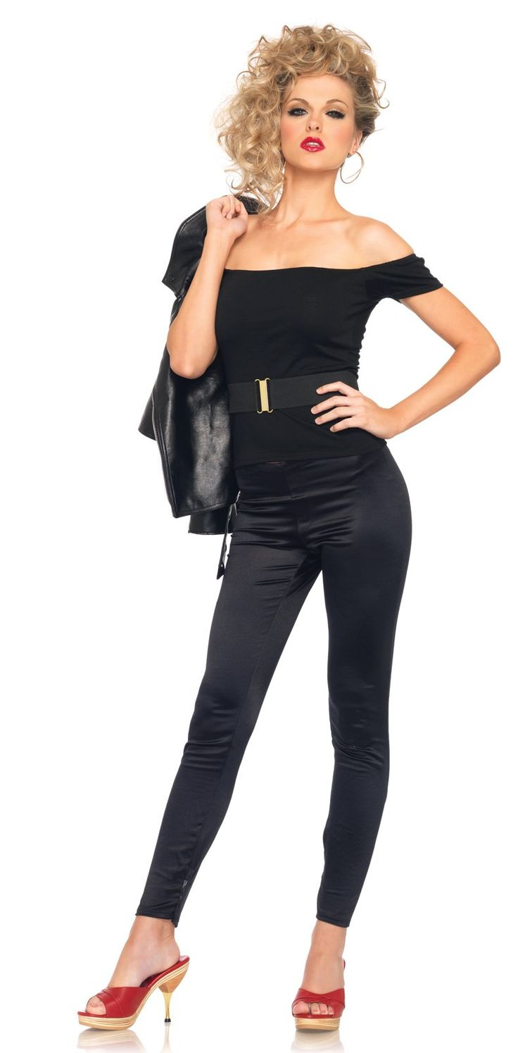 Grease Bad Sandy Outfit Adult Costume | Costumes, Sandy costume ...