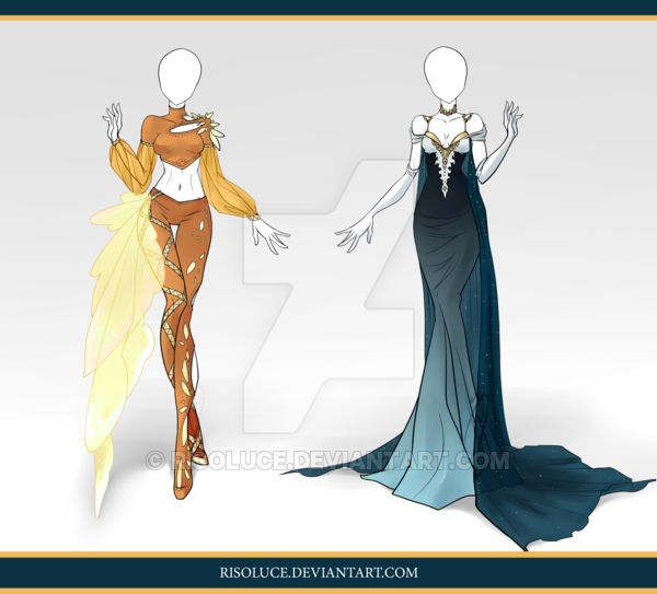 (CLOSED) Adoptable Outfit Auction 68-69 by Risoluce.deviantart.com on @DeviantArt