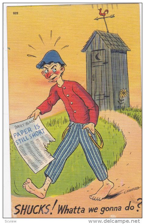... Outhouse Postcards på Pinterest  Toaletter, Sängkläder och Funny