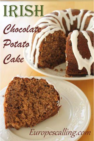 Irish Chocolate Potato Cake www.europescalling.com