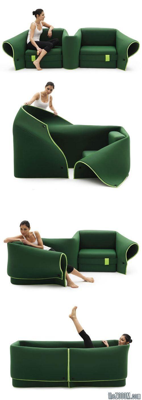 Sosia Convertible Sofa By Campeggi