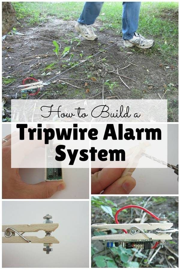 A classic and effective alarm system that you can make on your own. Protect your property with this DIY.