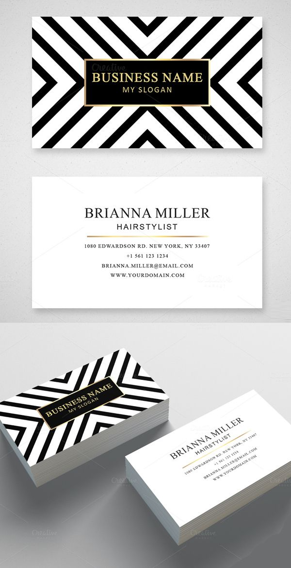 Modern Business Card Design More