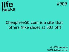 1000+Life+Hacks | 775 notes tagged as life life hacks life hack nike shoes shopping ...