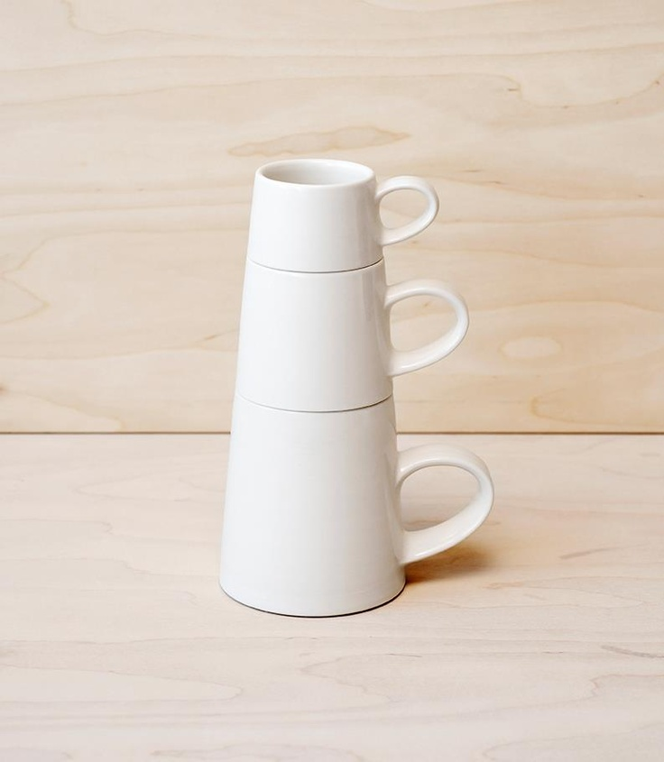 Stacking Mugs by Billy Lloyd Ceramics