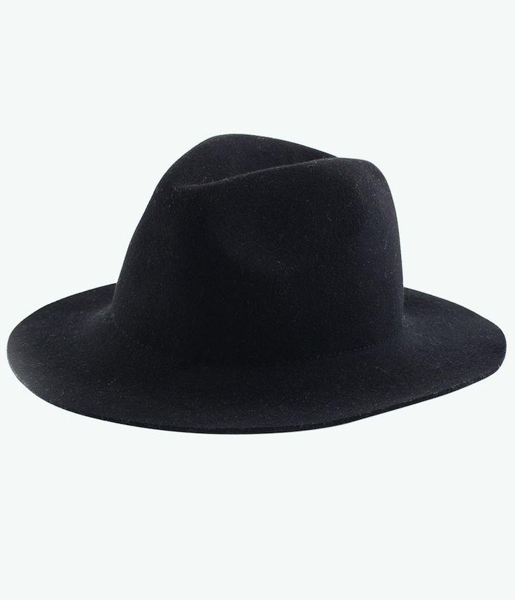RHYTHM POCKET HAT BLACK - Frendz & Co.