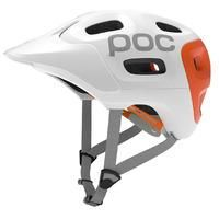 POC Trabec Race Mountain Bike Helmet  - Black / White / XSmall / Small