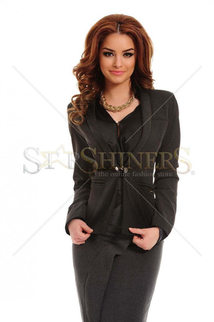 PrettyGirl Facility DarkGrey Jacket