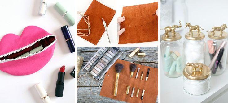 DIY: 10 accesorios súper glam para guardar tu maquillaje
